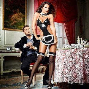 Completo Donna di Servizio Francese At Your Service Taglia