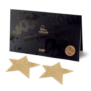 Copricapezzoli Flash Star Gold