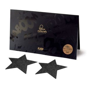 Copricapezzoli Flash Star Blac